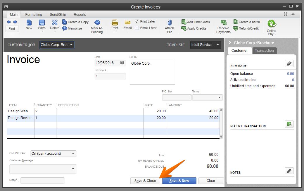 quickbooks-invoice-save-invoice